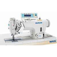 MAQI LS8450N-D4-3 промислова двохголкова машина з автоматичними функціями та відключенням голок